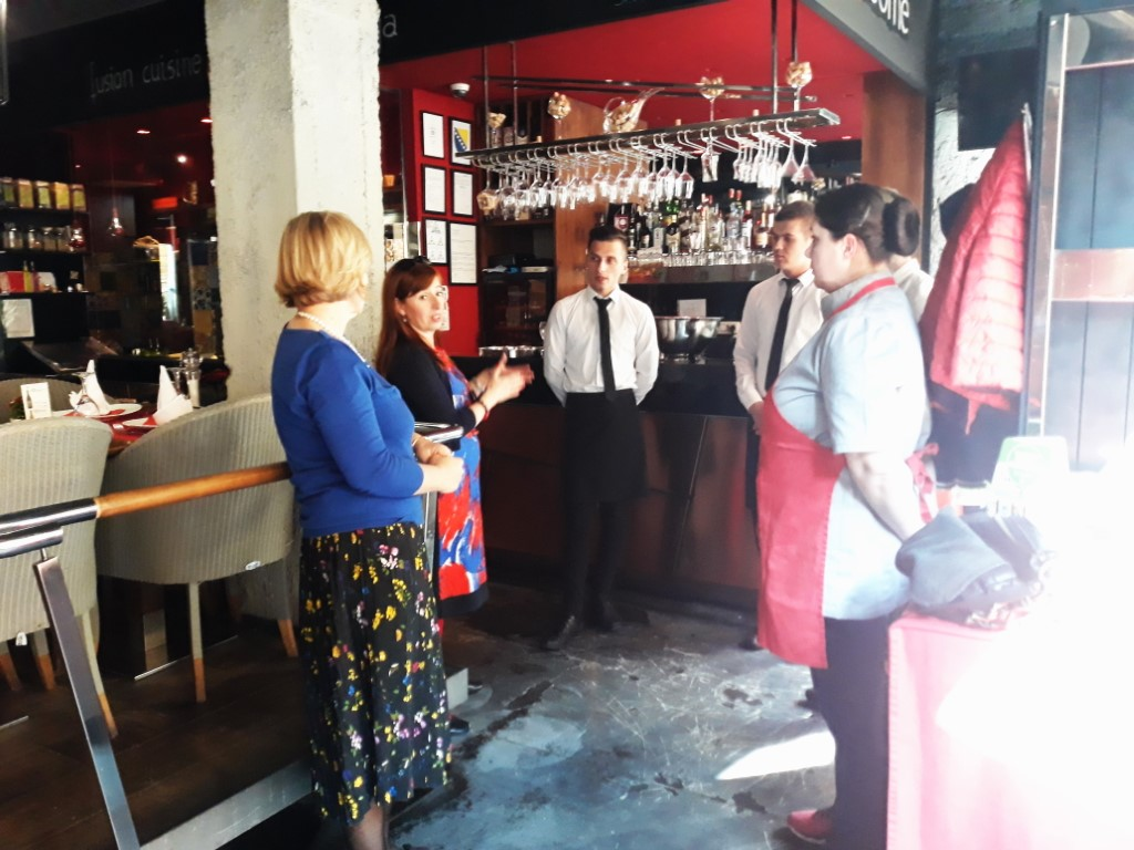 Edukacija restoran Mala Kuhinja