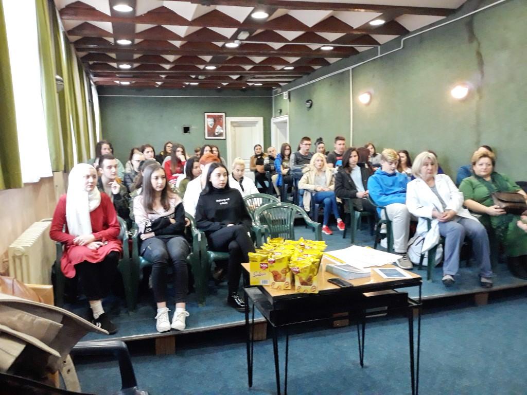 Edukacija – Srednja škola poljoprivrede, prehrane, veterine i uslužnih djelatnosti  Sarajevo